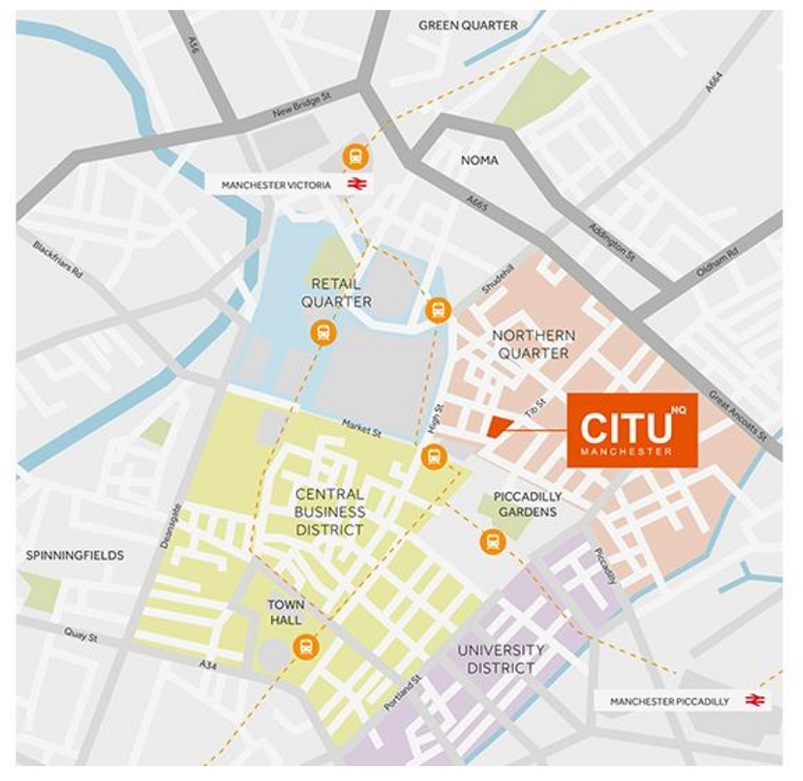 CituNQ Manchester Apartments For Sale