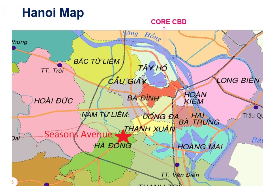 Travel Van For Sale >> Seasons Avenue Hanoi by CapitaLand - New Vietnam property ...